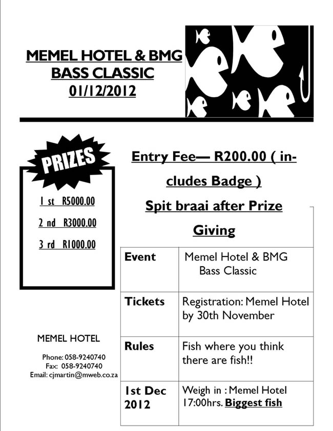 2012 Memel Bass Competition